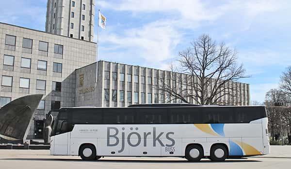 Coach Hire Sweden   Coach Rental   Bus Charter